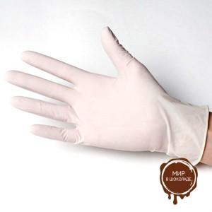 Перчатки латексные L, короб 100 шт.