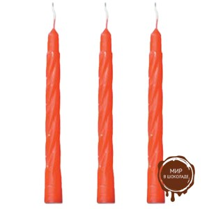 Свечи красные (короб 100 шт.)