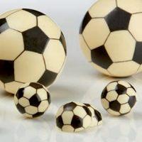 Форма-лист для декора БЛИСТЕРШОК футбол мини,  короб 10 шт.