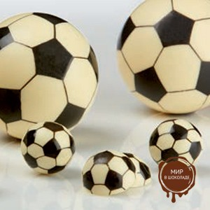 Форма-лист для декора БЛИСТЕРШОК футбол мини (короб 10 шт.)
