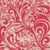 Трафаретный лист-пленка ДЕКОРШОК розовый узор,  пакет 17 шт.