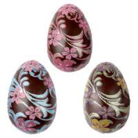 Форма-лист для декора БЛИСТЕРШОК яйцо цветы,  пакет 10 шт.