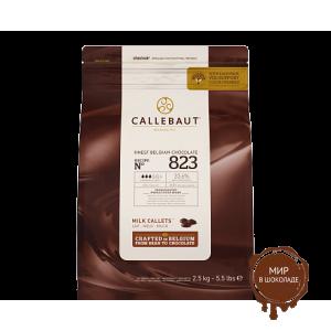 МОЛОЧНЫЙ ШОКОЛАД, В ГАЛЕТАХ, 33,6%  какао, Callebaut