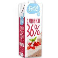 Сливки Бризе 36%,12 л., Россия