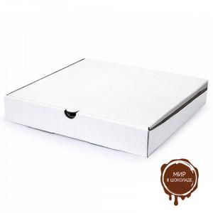Коробка для пиццы 250х250х40 мм белая, 50 шт.
