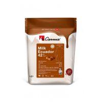 Молочный оригинальный шоколад в монетах ECUADOR 42% какао, 1,5 кг.