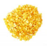 Лимон с цедрой сублимация, кусочки 1-5 мм., 1 кг.
