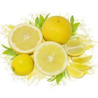Лимон с цедрой сублимация, сегмент (1/2), 1 кг.