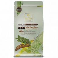 ТЕМНЫЙ КУВЕРТЮР MADIROFOLO  65 % какао, монеты, Cacao Barry /Франция/, 1 кг.