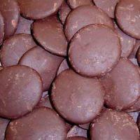 Глазурь шоколадные диски ТОПКОВЕР, короб 10 кг.