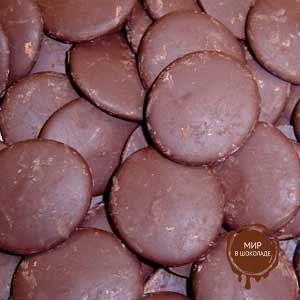 Глазурь шоколадные диски ТОПКОВЕР ,короб 10 кг.
