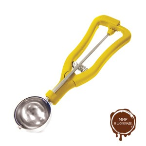 Ложка для мороженого порционная диам.50 мм, 1 шт.
