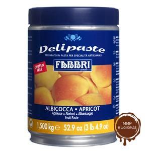 Паста десертная Делипаст АБРИКОС, банка 1.5 кг.