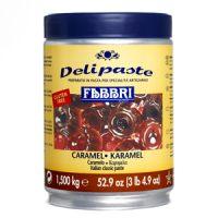 Паста десертная Делипаст КАРАМЕЛЬ, банка 1.5 кг.