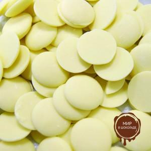 Шоколад белый Ванини, Италия, короб 4 кг.