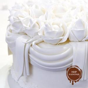 Pasta di Zucchero da Copertura Bianco,  1 кг.