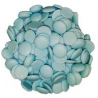 Лауриновая глазурь голубого цвета с нейтральным вкусом Диски Centramerica Blu Dischi, 1 кг.