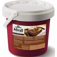 Mirall Cioccolato Fondente  зеркальная глазурь со вкусом темного шоколада, вед. 5 кг.