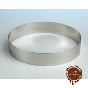 Форма металлическая КРУГ диаметр 200 мм, 1 шт.