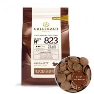 МОЛОЧНЫЙ ШОКОЛАД В ГАЛЕТАХ 33,6 % какао, Callebaut, 10 кг.