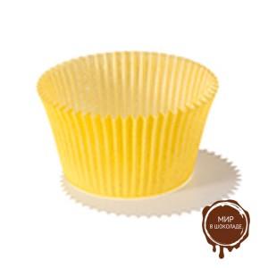 Капсула бумажная круглая №6 желтая, короб 500 шт.