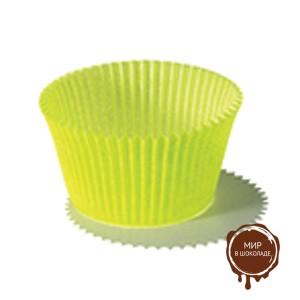 Капсула бумажная круглая №7 зеленая, короб 500 шт.