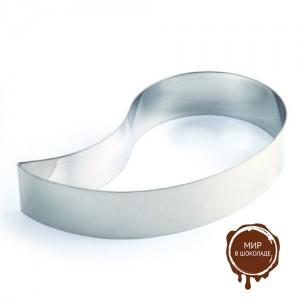Форма металлическая ЗАПЯТАЯ 200х40, 1 шт.