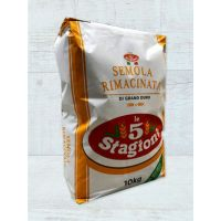 """Мука Le 5 Stagioni из твёрдых сортов пшеницы крупного помола """"Семола"""", 25 кг."""
