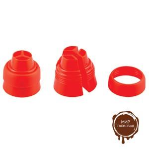Адаптер  пластиковый тройной ( 1 нб.)
