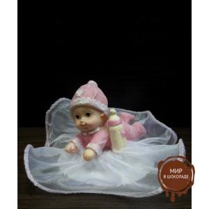 Фигурка новорожденного, розовая (26110*B/p), шт.