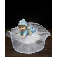 Фигурка новорожденного, голубая (26110*C/p), шт.