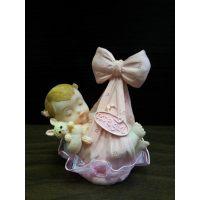 Фигурка новорожденного, розовая (26148*B/p), шт.