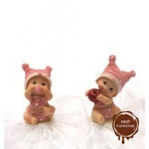 Фигурка новорожденного, розовая (26181*B/p), шт.