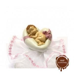 Фигурка новорожденного, розовая (26180*B/p), шт.