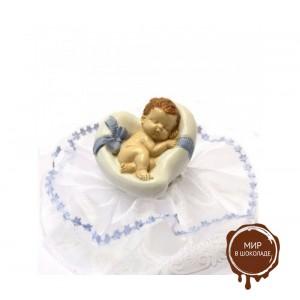 Фигурка новорожденного, голубая (26180*C/p), шт.