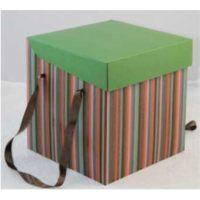 Коробки для тортов Ярмарка, шестиугольник, 24*24*18 см (Основание + Крышка), 25 шт.