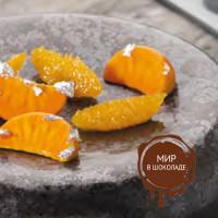 Коврик силиконовый ГУРМАН мандариновые дольки, 1 шт.