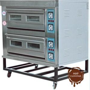 Печь хлебопекарная электрическая ярусная YXD (2-4), 2 яруса, 4 противня (AR) FoodAtlas Pro