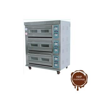 Печь хлебопекарная электрическая ярусная YXD (3-6), 3 яруса, 6 противней (AR) FoodAtlas Pro