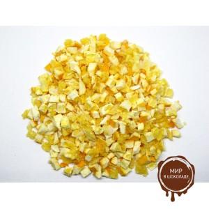 Апельсин с цедрой, кусочки 5-10 мм., 1 кг.
