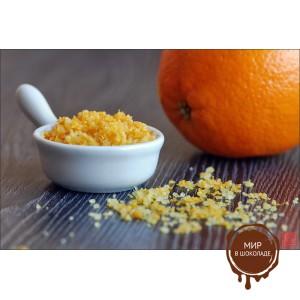 Апельсин с цедрой сублимированные кусочки 1-5 мм., 1 кг.
