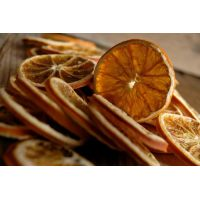 Апельсин с цедрой сублимация, шайбы, 1 кг.
