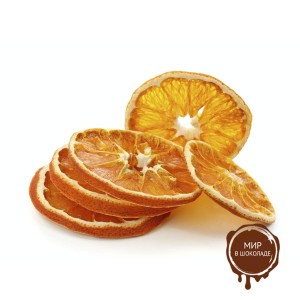 Апельсин с цедрой, сегмент (1/4 или 1/2), 1 кг.
