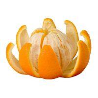 Апельсин без цедры, кусочки 0-5 мм., 1 кг.