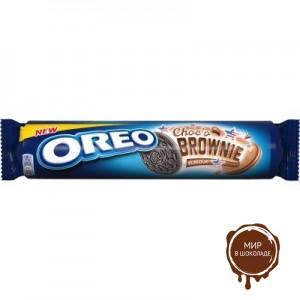 Печенье Oreo Choco Brownie (Орео шоколодные брауни) 154 гр.
