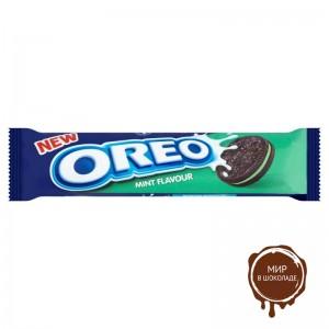 Печенье OREO MINT с мятным кремом, 154 гр.