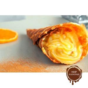 Ароматизатор натуральный Десертная паста апельсин, 1 кг.