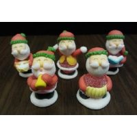 Сахарная фигурка Дед Мороз, 4,5 см.