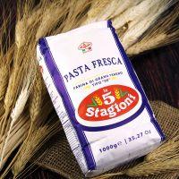 """Мука 00/P.F """"5-STAGIONI"""" 25кг д/свежей пасты из мягких сортов пшеницы"""