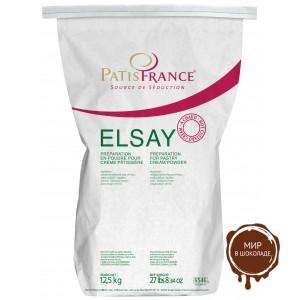 Крем патисьер Elsay горячего использования, Patisfrance, 1 кг.